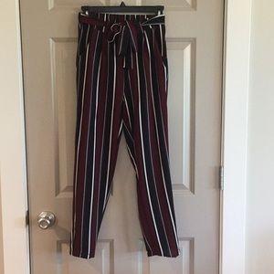 Super Cute Striped Dress Pants